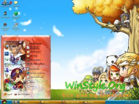 Theme Maple Story Online