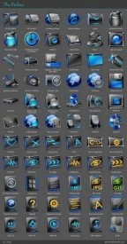Blue Planet Iconpacks with installer