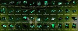 7tsp Alienware Breed Green Deep System Icon Pack
