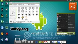 тема android для windows 7